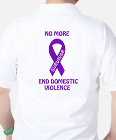 No more end domestic violence T-Shirt
