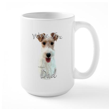 Wire Fox Dad2 Large Mug
