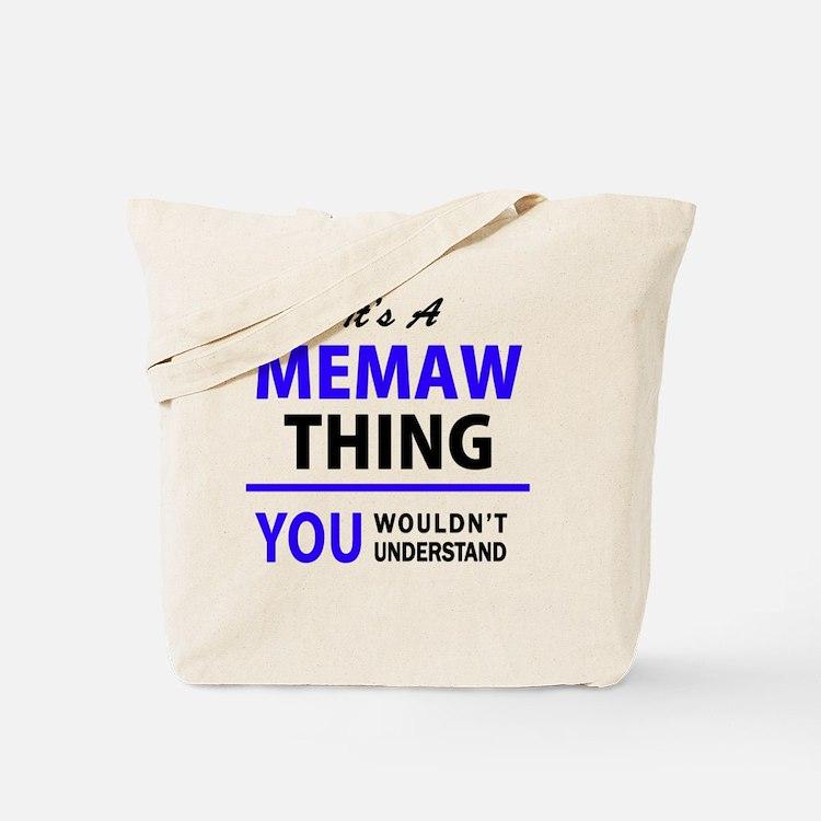 Cute Memaw Tote Bag