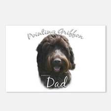 Griffon Dad2 Postcards (Package of 8)