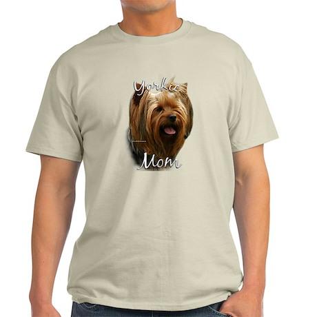 Yorkie Mom2 Light T-Shirt