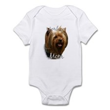 Yorkie Mom2 Infant Bodysuit