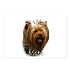 Yorkie Mom2 Postcards (Package of 8)