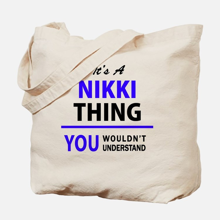 Cute Nikki Tote Bag