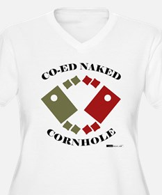 Co-Ed Naked Cornhole T-Shirt