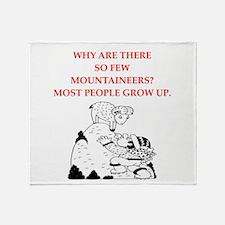mountaineer Throw Blanket