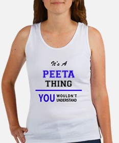 Unique Peeta thing Women's Tank Top
