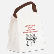 line dancer Canvas Lunch Bag