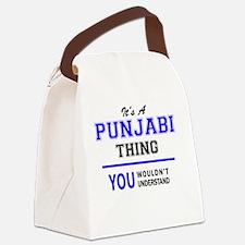 Punjabi Canvas Lunch Bag