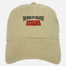 """The World's Greatest Chicken Farmer"" Baseball Baseball Cap"