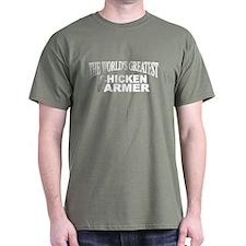 """The World's Greatest Chicken Farmer"" T-Shirt"
