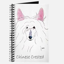 Chinese Crested Puff (no back Journal
