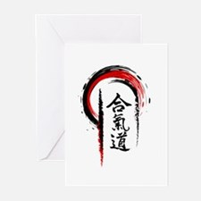 Aikido Greeting Cards