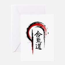 Aikido Greeting Cards