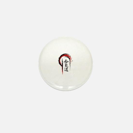 Aikido Mini Button