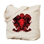 Ram's head Tote Bag