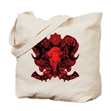 Ram's head Tote Bag