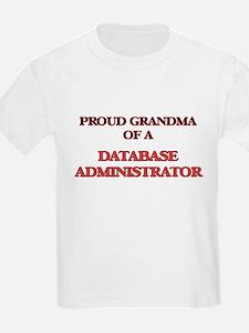 Proud Grandma of a Database Administrator T-Shirt