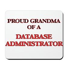 Proud Grandma of a Database Administrato Mousepad