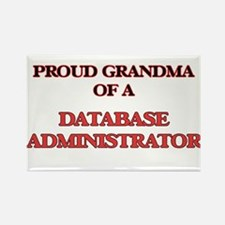 Proud Grandma of a Database Administrator Magnets