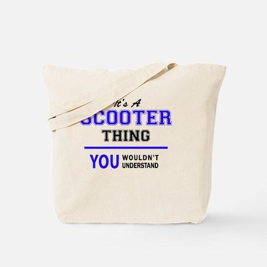 Unique Scooter Tote Bag