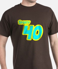 Sporty Forty 40 T-Shirt