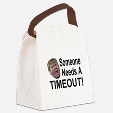 He needs a Timeout Canvas Lunch Bag
