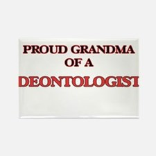 Proud Grandma of a Deontologist Magnets