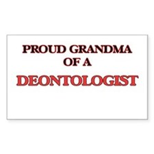 Proud Grandma of a Deontologist Decal