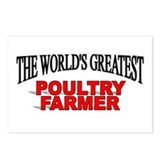 """""""The World's Greatest Poultry Farmer"""" Postcards (P"""
