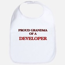 Proud Grandma of a Developer Bib