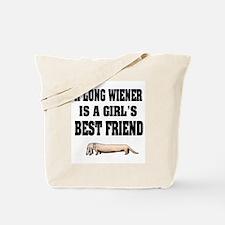 Wiener Friend Dachshund Tote Bag