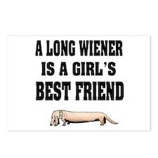 Wiener Friend Dachshund Postcards (Package of 8)