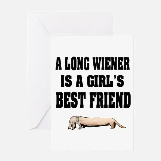 Wiener Friend Dachshund Greeting Card