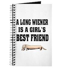 Wiener Friend Dachshund Journal