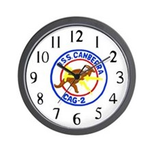 USS Canberra (CAG 2) Wall Clock