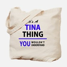 Funny Tina Tote Bag