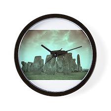 Stonehenge #3 Wall Clock