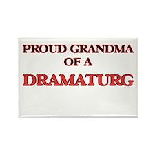 Proud Grandma of a Dramaturg Magnets