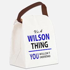 Unique Wilson Canvas Lunch Bag