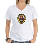 OCTD Police Officer Women's V-Neck T-Shirt