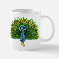 Cartoon Peacock Mugs