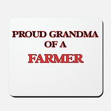 Proud Grandma of a Farmer Mousepad