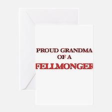 Proud Grandma of a Fellmonger Greeting Cards