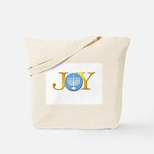 Joy Menorah Tote Bag