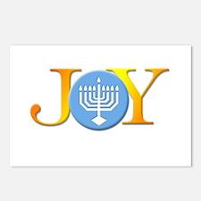 Joy Menorah Postcards (Package of 8)