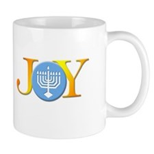 Joy Menorah Mug