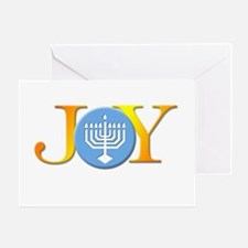 Joy Menorah Greeting Card