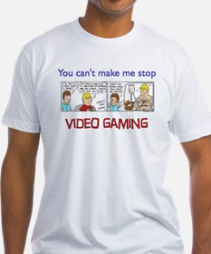 """You can't make me stop video gaming"""