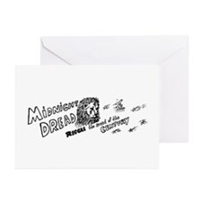 Midnight Dread 1 Greeting Cards (Pk of 10)